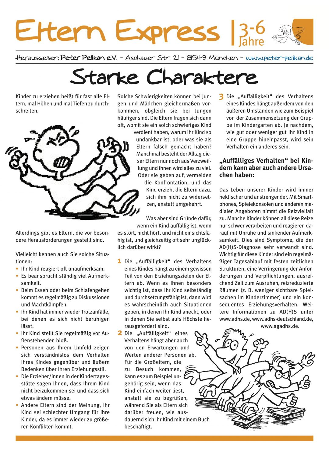 "Express-Brief No. 4 ""Starke Charaktere"""